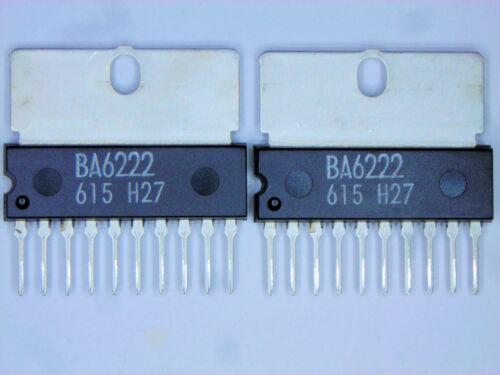 "BA6222  /""Original/"" ROHM  10P SIP IC with Heat Sink Tab  2  pcs"