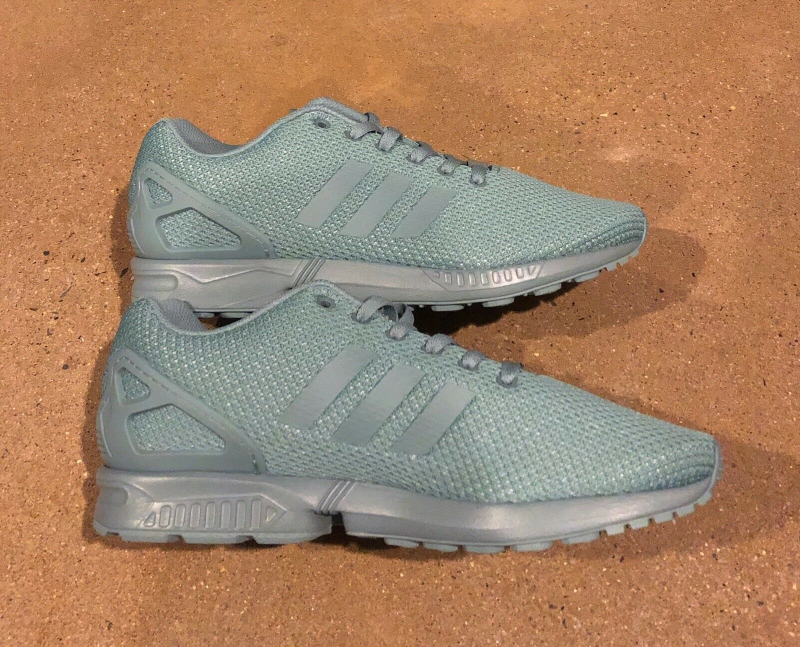 sports shoes fdcce ba455 ... Adidas Adidas Adidas ZX Flux Size 12 US Men s Mint Green Running shoes  Sneakers 4f433d ...