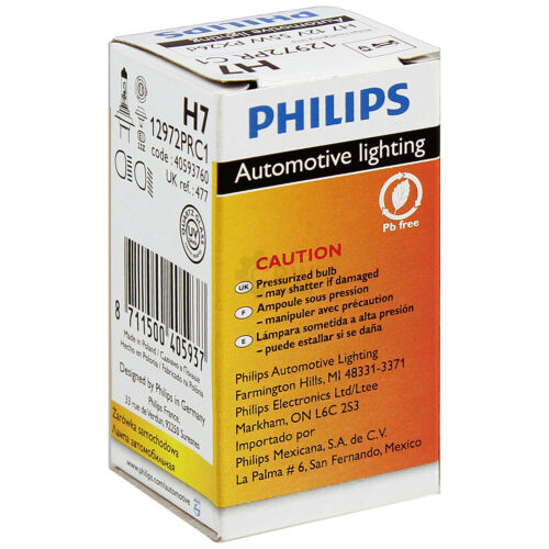 philips Phares droit MERCEDES VIANO VITO w639 Bj 03-10 h7+h7+h7 incl