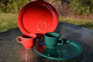Image is loading 10-5-034-WELLED-SNACK-PLATE-CUP-SET- & 10.5\