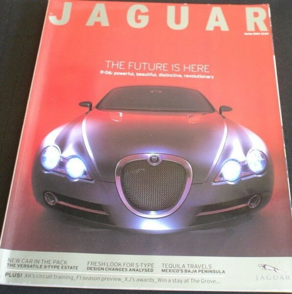 100% Vero Jaguar Magazine Primavera 2004 R-d6 Xjr Xj S Type Mark Webber Norman Dewis Xk120 Vivace E Grande Nello Stile