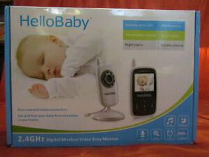 Hello Baby HB24 2.4 GHz Digital Wireless Video Baby Monitor