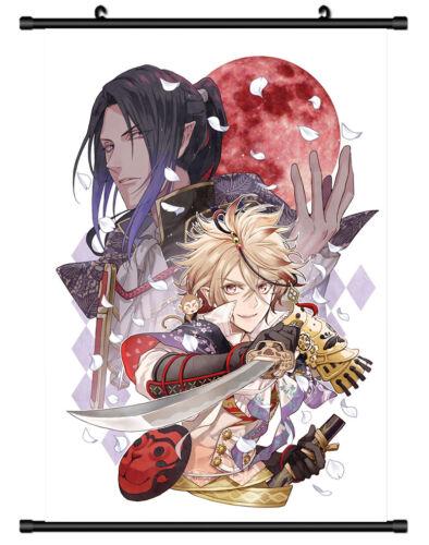 4601 Sengoku Night Blood Decor Poster Wall Scroll cosplay