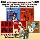 Lewis Ammons Johnson 5 Classic Albums Plus CD