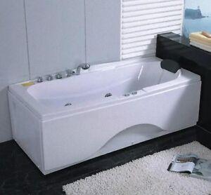 Vasca da idromassaggio per bagno 170x78 rettangolare con 8 idrogetti miscelatore ebay - Miscelatore vasca da bagno ...