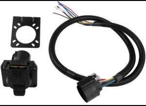 pollak / stoneridge rv oem 7-way socket- 4 foot wiring harness-mounting  bracket | ebay  ebay