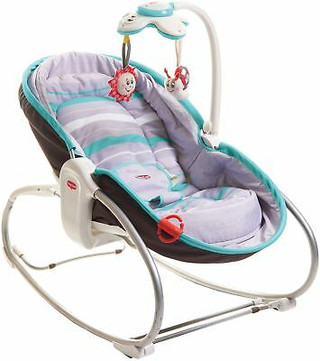 Conscientious Tiny Love 3 In 1 Rocker Napper Grey Turquoise Baby Rocker Bouncer Bn To Reduce Body Weight And Prolong Life