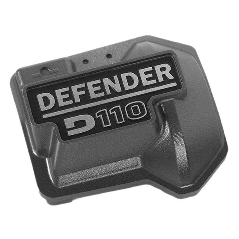RC4WD VVV-C0479 Defender D110 Diff Cubierta Para Traxxas Trx-4 (gris)
