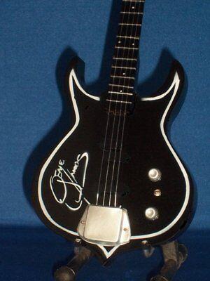 Mini Guitar JIMI HENDRIX Monterey Gift Memorabilia FREE STAND ART