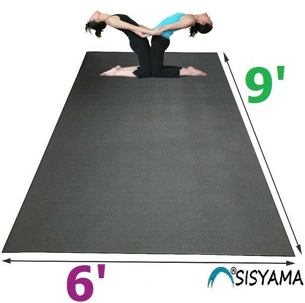 Huge Extra Large Workout Exercise Yoga Mat 9 6 Mma Home Gym Flooring 5 7 8