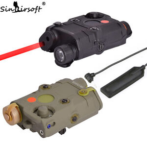 Tactical-PEQ-15-Red-Laser-Device-LED-Flashlight-IR-Len-ATPIAL-for-Airsoft-AEG