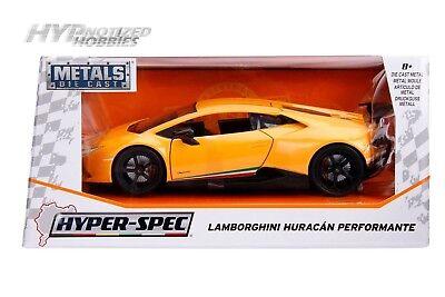 Jada 1:32 Metals Hyper-Spec Lamborghini Huracan Performante Diecast Car 30108