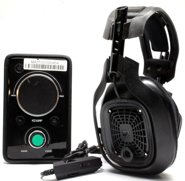 Astro a40 Gaming Headset & Mixamp PRO with Mic & Cables for Xbox One Ps3  Ps4 PC
