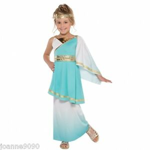 Girls-Venus-Roman-Greek-Goddess-Athena-Toga-Fancy-Dress-Costume-Book-Day-Outfit