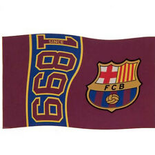 Barcelona Licensed  Football Flag 5x3Ft Flag. Since 1899