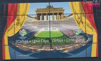 Erfinderisch Jugoslawien Block64 Postfrisch 2006 Fußball Wm´06 Deutschland Briefmarken Jugoslawien 8776964