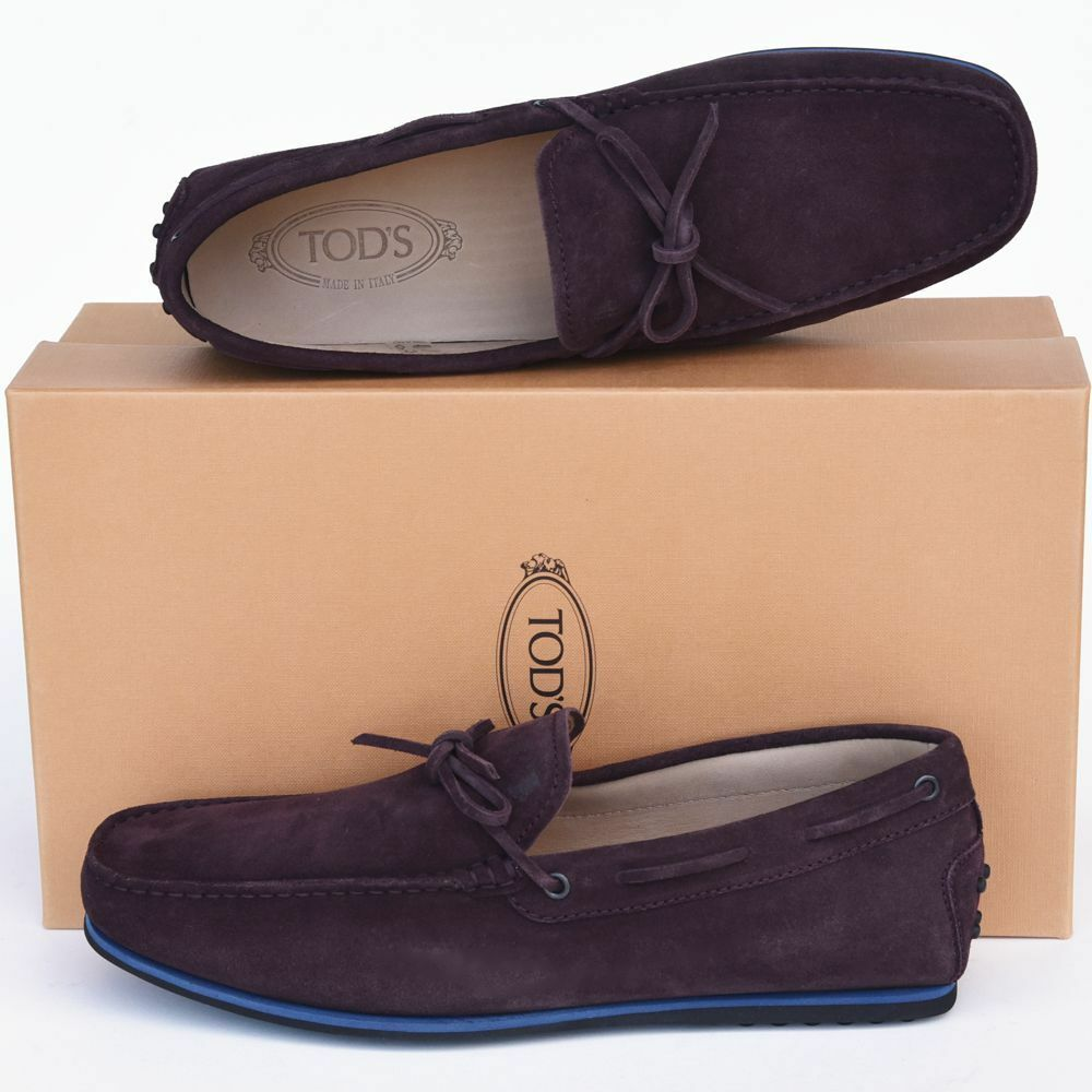 TOD'S Tods New sz US 10 Authentic Designer Mens Drivers Loafers Shoes