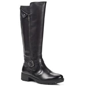Pavers TRIVI28004 Block Heel Knee High