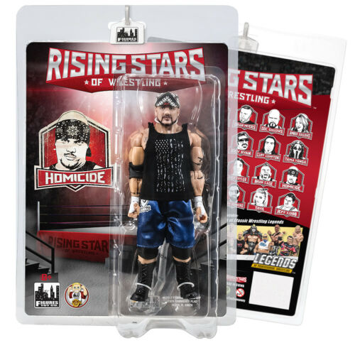 Rising Stars of Wrestling Action Figure Series Homicide