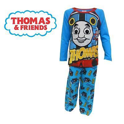 Boys Short Sleeved Short Legged Pyjamas with Thomas the Tank Engine