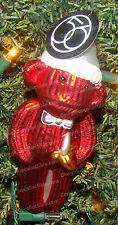 4032354 - Red Sock Monkey Christmas Ornament (Department 56) Glass