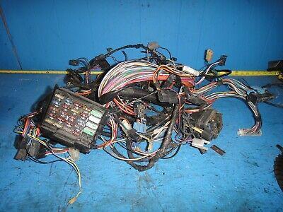 [WQZT_9871]  1989 C4 CORVETTE DASH HARNESS L98 700R4 AUTO TRANSMISSION C68 AC LOOK | eBay | L98 Engine Wiring |  | eBay