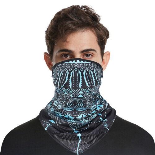 Unisex Face Mask Cover Scarf Biker Cycling Snood Bandana Balaclava Neck Tube UKY