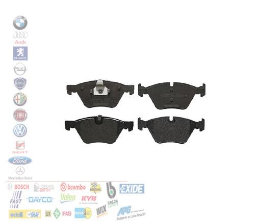 PASTIGLIE FRENO ANTERIORI BMW SERIE 1 3 5 E81 E87 E90 E60 F10 WVA23794 500048