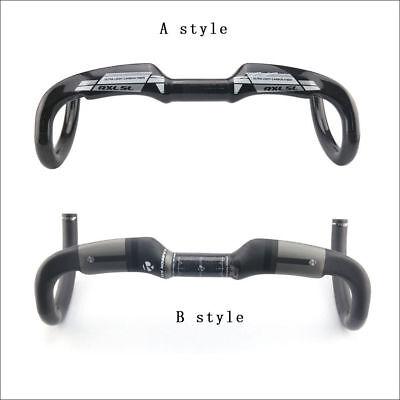 31.8mm Carbon Fiber MTB Road Bike Racing Handlebar Bicycle Drop Bar Handle Bar