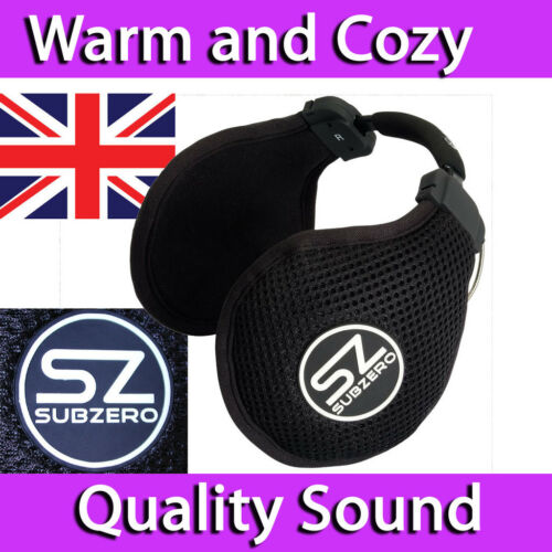 SUBZERO MIDLAND  EAR MUFF HEADPHONES ON EAR NECK BAND OUTDOOR IN LINE REMOTE MIC