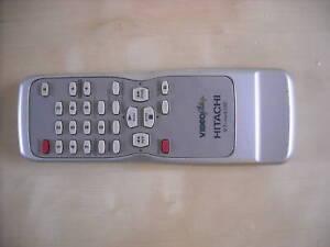 GENUINE-ORIGINAL-HITACHI-VT-RM410E-VCR-REMOTE-CONTROL-VTMX410EUK