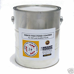 koi pond water safe 1 gal primer for herco fish pond coating ebay