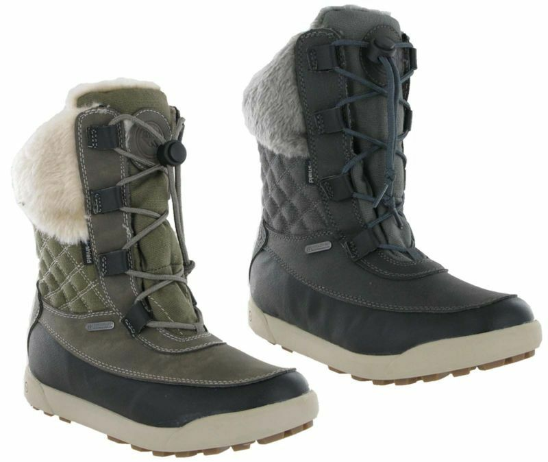 Hi-Tec Dubois 200 Insulated Thermal Waterproof Winter Snow Comfort Womens Boots
