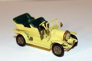 Matchbox-Models-Of-Yesteryear-No-16-1904-SPYKER-Car-Made-in-England