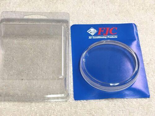 "GAUGE Lens COVER 2.5/"" FOR THE PLASTIC /& METAL CASES /""SCREW-ON/"" GAUGE LENS"