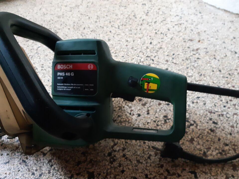 Hækklipper, Bosch PHS46 G