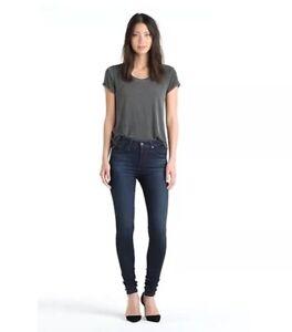 AG-Adriano-Goldschmied-Womens-Size-32-Skinny-The-Farrah-High-Waist-Skinny-Jeans