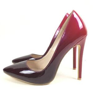 women shoes pointed toe high heels pumps gradient wedding