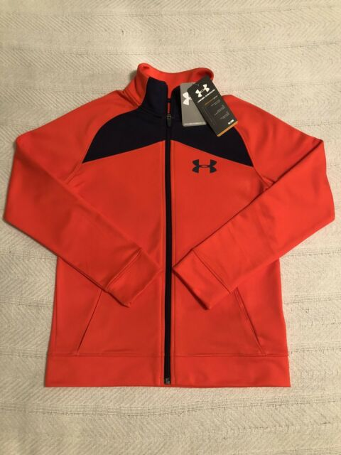 NWT $60 UNDER ARMOUR Storm Futbolista Shell Jacket Boys M 10-12 SELECT COLOR