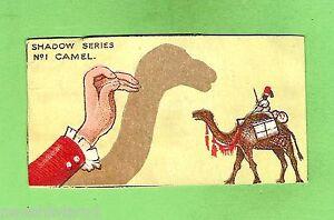 D198-RARE-1916-COLLECTOR-CARD-THE-CITY-BAKERIES-SHADOW-SERIES-1-CAMEL