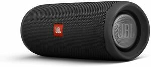 JBL Flip 5 Portable Waterproof Bluetooth Speaker - Black JBLFLIP5BLKAM