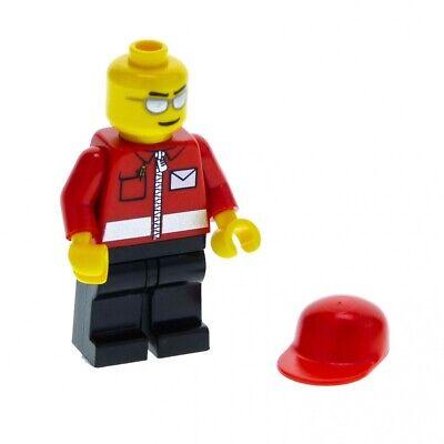 1 x Lego System Torso Upper Body Figure Town City Mailman Postman JACKET RO
