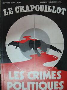 LES-CRIMES-POLITIQUES-DUBREUIL-BANDERA-DARLAN-DELGADO-KLEMENT-CRAPOUILLOT-1970