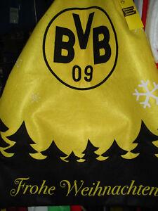 Bvb Frohe Weihnachten.Details Zu Weihnachts Sackchen Frohe Weihnachten Borussia Dortmund Fussball Fanartikel