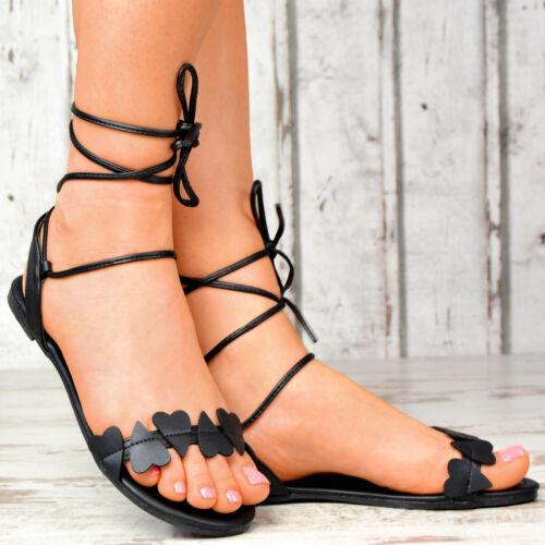 Party Sandals Nuove Strappy da Gladiator Lace Sexy Summer scarpe donna Up wSSqOzP