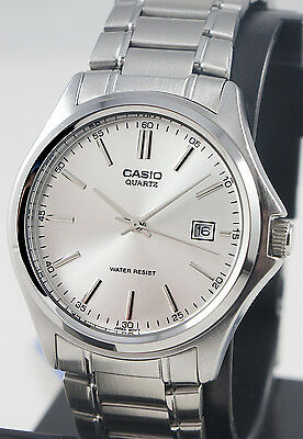 Casio MTP1183A-7AD Men's Analog Watch Stainless Steel Band Quartz with Date New