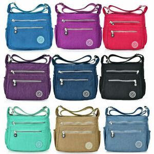 Women-039-s-Nylon-Handbag-Shoulder-Bag-Ladies-Waterproof-Crossbody-Messenger-Bags