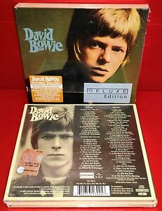 2-CD-DAVID-BOWIE-SAME-SELF-TITLED-S-T-DELUXE-SEALED-SIGILLATO