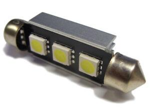 Xenon-White-Canbus-3-Smd-LED-Interior-Bulb-Lamp-For-Renault-Traffic-Master-Van