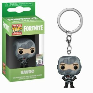 Fortnite Battle Royale Havoc Tenue Pocket Pop! Keychain Porte Clés Funko-ger Funko Fr-fr Afficher Le Titre D'origine